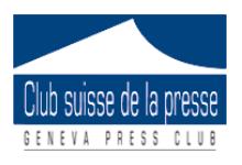 Logo Club suisse de la presse